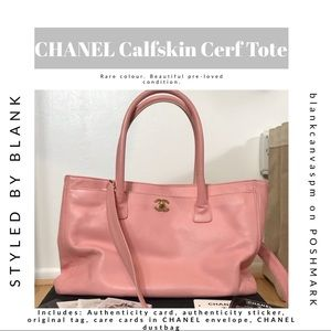 CHANEL Executive Cerf Tote w tag, care card, more!